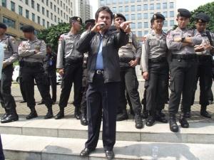 Ketua Dewan Pengurus Harian (DPH) Serikat Pekerja PDAM Jakarta Sopiyanto (Photo oleh SP PDAM Jakarta)